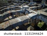 agora of the ancient city of... | Shutterstock . vector #1131344624