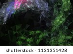 low poly mosaic background.... | Shutterstock .eps vector #1131351428
