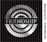 friendship silver badge   Shutterstock .eps vector #1131356540