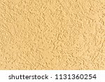 the yellow texture of the... | Shutterstock . vector #1131360254