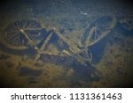 old rusty bike | Shutterstock . vector #1131361463