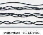 realistic electrical wires ... | Shutterstock .eps vector #1131371903