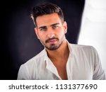 head and shoulders shot of... | Shutterstock . vector #1131377690