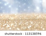 abstract  twinkled  christmas... | Shutterstock . vector #113138596