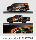 van graphic vector. abstract...   Shutterstock .eps vector #1131387089