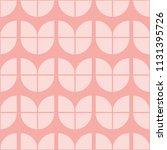 seamless pink vintage simple... | Shutterstock .eps vector #1131395726