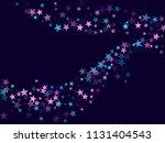 violet blue cyan pink geometric ... | Shutterstock .eps vector #1131404543