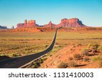 classic panorama view of... | Shutterstock . vector #1131410003