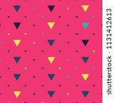 seamless pattern with small... | Shutterstock .eps vector #1131412613