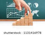 hand liken business person... | Shutterstock . vector #1131416978