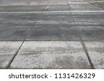 street  concrete and pavement  | Shutterstock . vector #1131426329