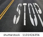 street  concrete and pavement  | Shutterstock . vector #1131426356