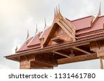close up view of an ancient... | Shutterstock . vector #1131461780