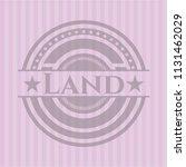 land pink emblem. retro | Shutterstock .eps vector #1131462029