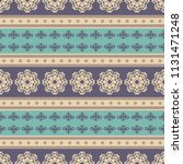 seamless vector decorative... | Shutterstock .eps vector #1131471248