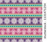 seamless vector decorative... | Shutterstock .eps vector #1131471254