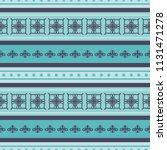 seamless vector decorative... | Shutterstock .eps vector #1131471278