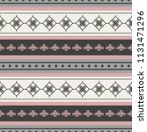 seamless vector decorative... | Shutterstock .eps vector #1131471296