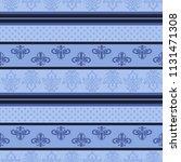 seamless vector decorative... | Shutterstock .eps vector #1131471308