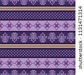 seamless vector decorative... | Shutterstock .eps vector #1131471314