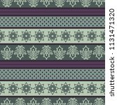 seamless vector decorative... | Shutterstock .eps vector #1131471320