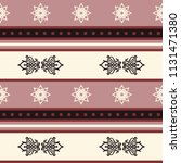 seamless vector decorative... | Shutterstock .eps vector #1131471380