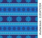 seamless vector decorative... | Shutterstock .eps vector #1131471524