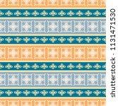 seamless vector decorative... | Shutterstock .eps vector #1131471530