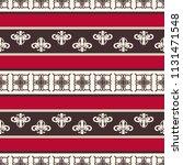 seamless vector decorative... | Shutterstock .eps vector #1131471548