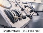 control panel of industrial... | Shutterstock . vector #1131481700