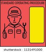 sop standard operating...   Shutterstock .eps vector #1131491000