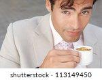 close up portrait of a... | Shutterstock . vector #113149450