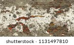 closeup of colorful grunge...   Shutterstock . vector #1131497810