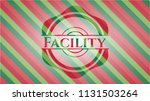 facility christmas style badge..   Shutterstock .eps vector #1131503264