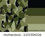 camo painters guide 16 | Shutterstock .eps vector #1131504236