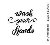 lettering poster for kitchen ... | Shutterstock .eps vector #1131511403