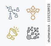 spreading messages   pastel... | Shutterstock .eps vector #1131528923