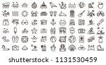 big summer holidays icon set.... | Shutterstock .eps vector #1131530459