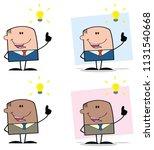businessman cartoon character... | Shutterstock . vector #1131540668