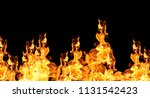 flame heat fire abstract... | Shutterstock . vector #1131542423