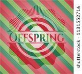 offspring christmas style...   Shutterstock .eps vector #1131552716