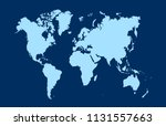 color world map vector | Shutterstock .eps vector #1131557663