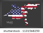 bakersfield california map with ... | Shutterstock .eps vector #1131568250
