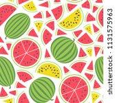 vector illustration  seamless...   Shutterstock .eps vector #1131575963