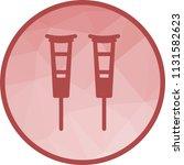 crutches  crutch  walker   Shutterstock .eps vector #1131582623