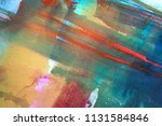abstract watercolor paint... | Shutterstock . vector #1131584846