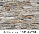 stone cladding wall made of... | Shutterstock . vector #1131589913