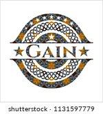 gain arabic emblem background....   Shutterstock .eps vector #1131597779