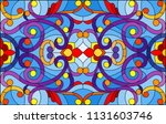 illustration in stained glass... | Shutterstock .eps vector #1131603746