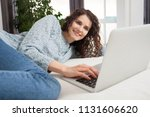 beautiful middle age woman...   Shutterstock . vector #1131606620
